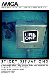 GALLERYSHOW (ube1kenobi) Tags: streetart art graffiti stickers urbanart stickertag ube sanfranciscograffiti slaptag newyorkgraffiti losangelesgraffiti sandiegograffiti customsticker ubeone ubewan ubewankenobi ubesticker ubeclothing