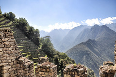 Winay Wayna, Peru (steveuttley) Tags: peru inca trek walking hiking cusco climbing valley sacred andes machupicchu urabamba wayna winay winawayna scredvalley