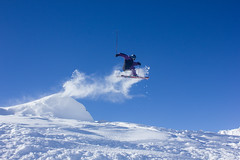 Powder Kicker (Sam Box) Tags: alps freestyle skiing off powder tignes valdisere piste