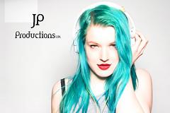 In the Studio (Jigsaw-Photography-UK) Tags: blue music girl hair studio headphone jpproductionsuk