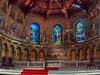 glorious (BPPrice) Tags: windows wedding church architecture carpet groom bride mural memorial worship candle christ cross jesus marriage stainedglass olympus holy angels stanford crucifix marble alter fresco hdr omd lightroom lastsupper em1 photomatix 1240mm brandonprice