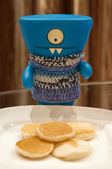 Uglyworld #2228 - Triplers P - (Project On The Go - Image 60-365) (www.bazpics.com) Tags: china new travel blue home wool pancakes breakfast project toy hotel evening march fly blog sweater wake day shanghai 1st action handmade room crochet flight steps vinyl knit daily case pack website figure surprise jumper p 365 adventures custom uglydoll total suitcase today triple wedgie uglydolls 2014 wedgehead uglyworld prettyugly barryoneilphotography adventuresinuglyworld uglyadventures preplanepancakes