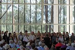 Massed choir (Buttontree Lane) Tags: choir singing canberra highcourtofaustralia popupchoir
