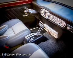 Ford Anglia Interior - Frank Vanderhoster (Bob Kolton Photography) Tags: classic cars ford car automotive autos hdr classiccars bradenton automobiles anglia pepboys manateecounty canong1x bobkoltonphotography lancecarshows