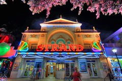 The Strand Theater (a_scarlett) Tags: street vacation strand keys island spring fishing oldschool keywest walgreens duval adaptivereuse vision:text=0627 vision:outdoor=0561