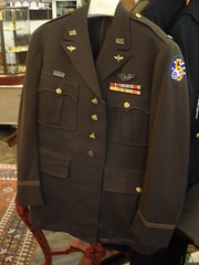 "Major Charles Weese's Army jacket, medals, insignia, wings and dog tags.  $600. • <a style=""font-size:0.8em;"" href=""http://www.flickr.com/photos/51721355@N02/13983237629/"" target=""_blank"">View on Flickr</a>"