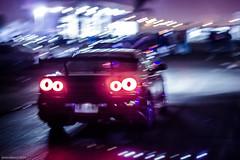 Thursday night (Javo Alfaro.) Tags: chile street skyline eos nissan racing midnight r34 60d