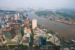 Ho Chi Minh City panorama (Johanna Hoffmann) Tags: asia vietnam metropolis hochiminhcity megacity