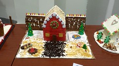Dakotah Fitness, Gingerbread Houses 2014 -003 (haimanti.weld) Tags: gingerbreadhouse 2014 priorlakemn samsunggalaxys4 dakotahfitness