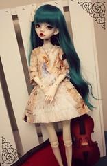 Amazing Grace (RedBeanPetit4s) Tags: angel dress handmade lace lolita bjd msd balljointeddoll
