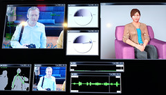 Virtual therapist (Lars Plougmann) Tags: avatar realtime bodylanguage lars virtual facialexpression aaai therapist dscf5852 aaai15
