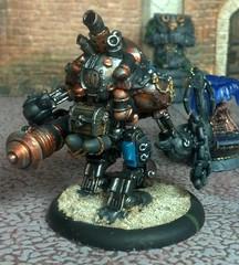 Mariner (Eldritch Engines) Tags: miniatures robot pirate steampunk warmachine mercenary warjack