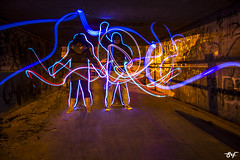 (siomara.reigfornes) Tags: nightphotography lightpainting color art photo picture pic led nocturna capture tunel ondara lightpainters
