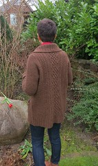 HighHopes by Annamária Ötvös (LucciolaS) Tags: wool sweater knitting coat jacket cables topdown knitted aran cardigan seamless textured tweed buttoned kingcraig