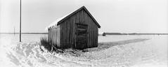 Barns @ Söderfjärden (Foide) Tags: panorama snow barn finland barns plain blackdiamond vaasa winterlandscapes söderfjärden