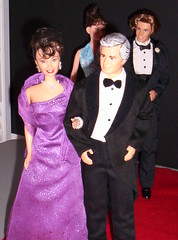 Red Carpet (larry_boy17) Tags: family red celebrity love smile fashion ball hair carpet evening couple doll dolls purple heart gray ken barbie handsome husband jewelry grandpa audrey tuxedo mature wife erica kane gown avenue hepburn distinguished