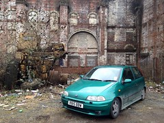 1998 Punto Sporting (David Kedens) Tags: winter scotland clyde spring fiat glasgow scottish dirty scrapyard renfrew fiatpunto fiatpuntosporting forscrap mk1puntosporting 1998punto christiescrapyard christieandsons mk1punto