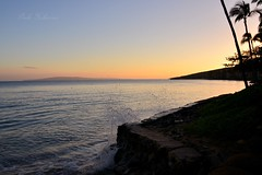 Sundown (Pink Hibiscus) Tags: sunset hawaii nikon sundown maui fx allrightsreserved d800 copyrighted maalaea 2015 maalaeabay pinkhibiscus
