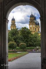 Mnchen Theatinerkirche (hph46) Tags: mnchen bayern deutschland kirche hofgarten theatinerkirche