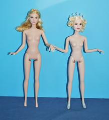 Body Comparison (toomanypictures1) Tags: james dolls lily helena cinderella mattel bonham 2015