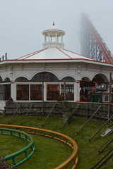 Tracks of the Steeplechase (CoasterMadMatt) Tags: park uk greatbritain winter england cloud mist max west english beach weather misty fog one amusement big nikon lift ride photos unitedkingdom britain low hill north foggy carousel lancashire photographs gb roller amusementpark british rides rollercoaster arrow pepsi february bigone coaster blackpool pleasure attraction coasters rollercoasters steeplechase carousels lancs hypercoaster lowcloud pleasurebeach nikond3200 blackpoolpleasurebeach 2015 pepsimax thebigone pepsimaxbigone northwestengland d3200 lifthill pleasurebeachblackpool infog coastermadmatt coastermadmattphotography february2015 winter2015 pleasurebeachinfog pleasurebeachblackpool2015 blackpoolpleasurebeach2015