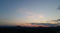 Monday's sunset (Quique CV) Tags: sunset sky espaa mountains primavera valencia clouds atardecer spring spain cielo nubes monday lunes montaas pobladevallbona
