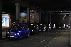 Taxis (John A King) Tags: station taxis waterloo