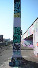ill zoo crew (Ghost Hunter Frankfurt) Tags: streetart graffiti hall frankfurt legal gelnder ratsweg ratswegkreisel illzoocrew