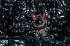 Kidrobot (InOurEyes24) Tags: blur ice toy photography 50mm nikon focus exposure bokeh snapshot kidrobot 50mmlens 50for50 50mmchallenge nikond7000