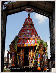 6135 -  Sri Parthasarathy Temple Bramotsavam April 2016 series (chandrasekaran a 34 lakhs views Thanks to all) Tags: travel india heritage car festival temple vishnu culture traditions lord krishna chennai tamil nadu tamils templecar parthasarathy triplicane brahmotsavam alwars vaishnavites