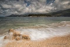 BEAUTIFUL VIEW   (EXPLORED) (lynneberry57) Tags: croatia babinkuk dubrovnik rocks boats mountains clouds coast seascape beauty adriaticsea explored