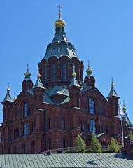 Uspenski Cathedral (ri Sa) Tags: building finland helsinki cathedral eastern orthodox uspenski