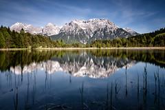 Luttensee - Germany (Nobsta) Tags: lake alps water bayern bavaria see nikon wasser nik alpen karwendel colorefex nikcolorefex d810 luttensee