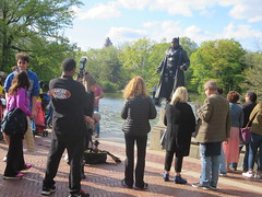 Blade Daywalker cosplay action superhero photo shoot in the Bethesda Terrace and Fountain area of Central Park, New York City, Manhattan Island, USA (RYANISLAND) Tags: nyc newyorkcity pink flowers ny newyork flower japan japanese spring centralpark manhattan cherryblossom  sakura cherryblossoms newyorkstate matsuri japaneseculture nys springtime jpop sakuramatsuri  cherryblossomfestival centralparknyc manhattanisland japanday welcomespring japandaycentralpark peakbloom japandaynyc japanday2016