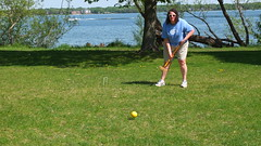 (sfrikken) Tags: park lake dave place madison deb croquet monona torey yahara