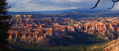 Inspiration Point Bryce Canyon at sunset April 2016 (johnredney) Tags: park inspiration point landscape utah nationalpark canyon national american bryce geology brycecanyon geological