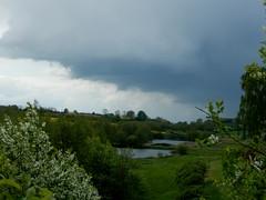 Dark clouds over Gammeldam (Landanna) Tags: lake nature denmark meer natur natuur dnemark danmark als denemarken snderjylland s nordborg gammeldam zuidjutland