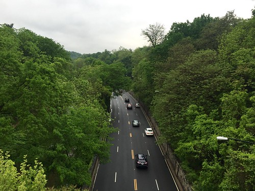 Rock Creek Parkway from Q St bridge