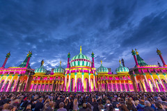 One Night At The Pavillion (simon.anderson) Tags: show light building history architecture sussex nikon brighton colours audience crowd grand historic projection historical spectators majestic lightshow eastsussex royalpavilion brightonpavilion royalpavillion sigma1020 simonanderson leefilters lee06ndgrad nikond7100 leehardndgrad09 drblighty