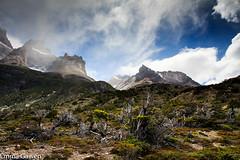 Walking from Refugio El Chileno to Los Cuernos Refugio, Torres del Paine, Chile (EmmaJG) Tags: chile torresdelpaine tdp 2015 patagonia2015