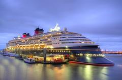 Disney Magic Ready to Leave Liverpool (Jeffpmcdonald) Tags: disneymagic waltdisneycorp cruiseship liverpool liverpoolcruiselinerterminal rivermersey merseyside nikond7000 jeffpmcdonald june2016