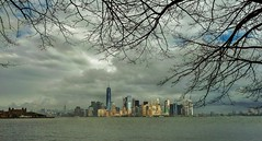 Manhattan from Liberty Island, New York City, USA (Lemmo2009) Tags: newyorkcity usa manhattan libertyisland