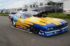 Cuda (Fast an' Bulbous) Tags: car vehicle automobile fast speed power drag strip race track santa pod england nikon d7100 gimp worldcars