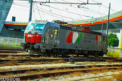 CFI E191.011 (DavideEos) Tags: train merci siemens treno freight cfi marghera vectron e191