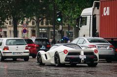 La Ferrari (ExoticCarsParis) Tags: ferrari laferrari la white california paris rain car supercar