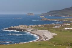 Malin Head (ghostwheel_in_shadow) Tags: ireland sea beach island bay coast europe eire coastal donegal connaught malinhead republicofireland banbascrown