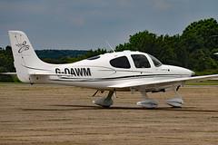 G-OAWM (GH@BHD) Tags: aircraft aviation cirrus northweald sr20 cirrusdesign airbritain northwealdairfield airbritainflyin goawm