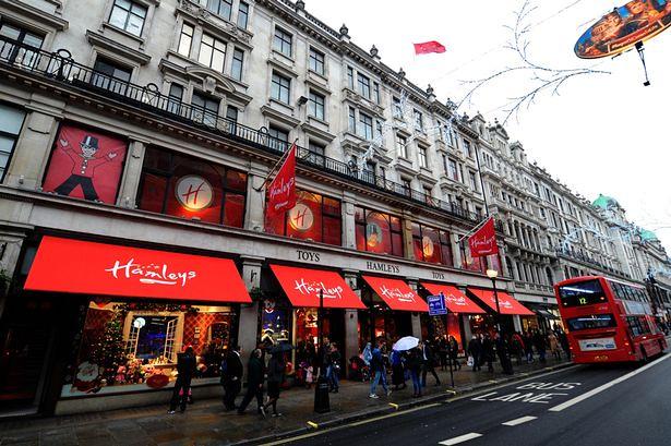 Hamleys là cửa hàng đồ chơi lâu đời nhất thế giới
