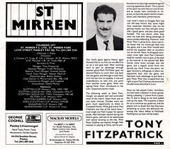 St Mirren vs Celtic - 1988 - Page 3 (The Sky Strikers) Tags: street love st magazine scottish match celtic premier league bq clydeside 60p mirren