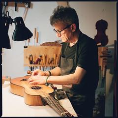 Italians (giancarlo rado) Tags: hasselblad explore chitarra guitarmaker liutaio planar10035